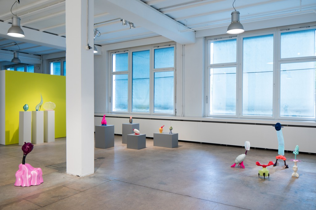 Blending Presences installation view. Photo: Michael Dellefant. Courtesy of Gallery Roehrs & Boetsch.