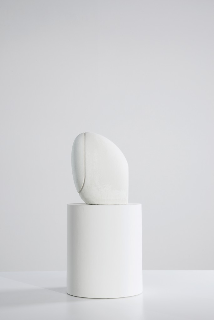 Classics by Stefano Giovannoni, wall-hung WC, IlBagnoAlessi One, 2002 Polymers and silica sand, binder jetting (powder bed 3D printing), infiltrated and painted 25 × 19 × 17cm, Producer: Christenguss AG