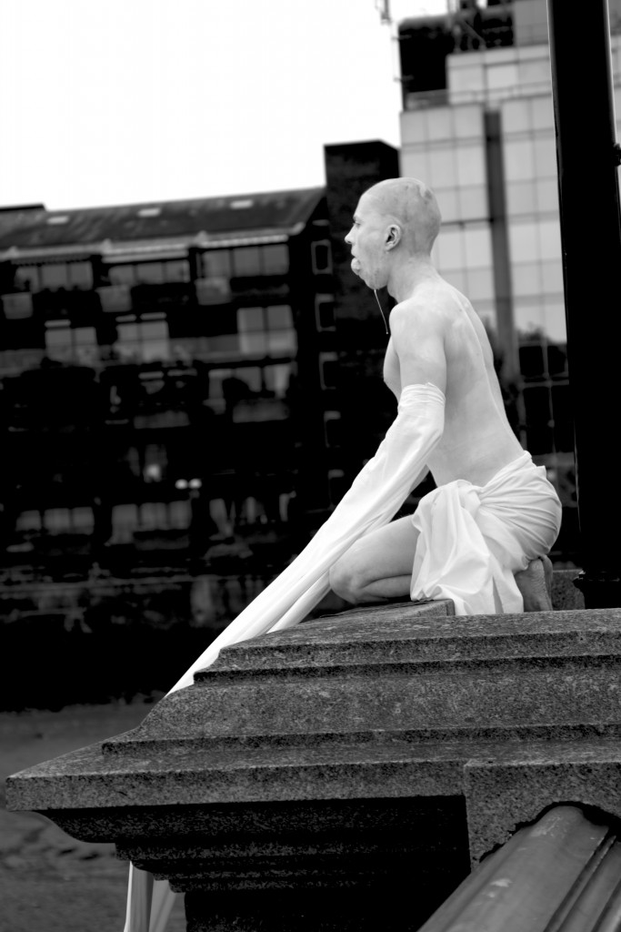 Untitled performance by Fritz Faust