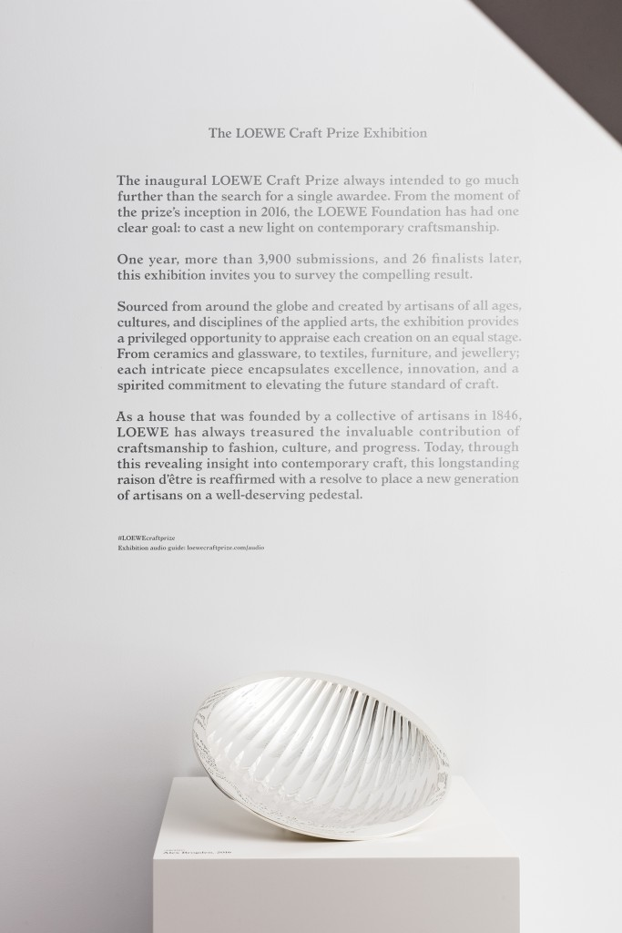 Loewe Craft prize at Chamber Gallery 6681