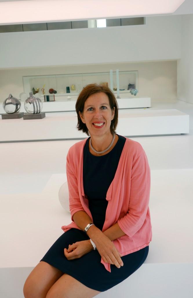 MusVerre artistic director Anne Vanlatum