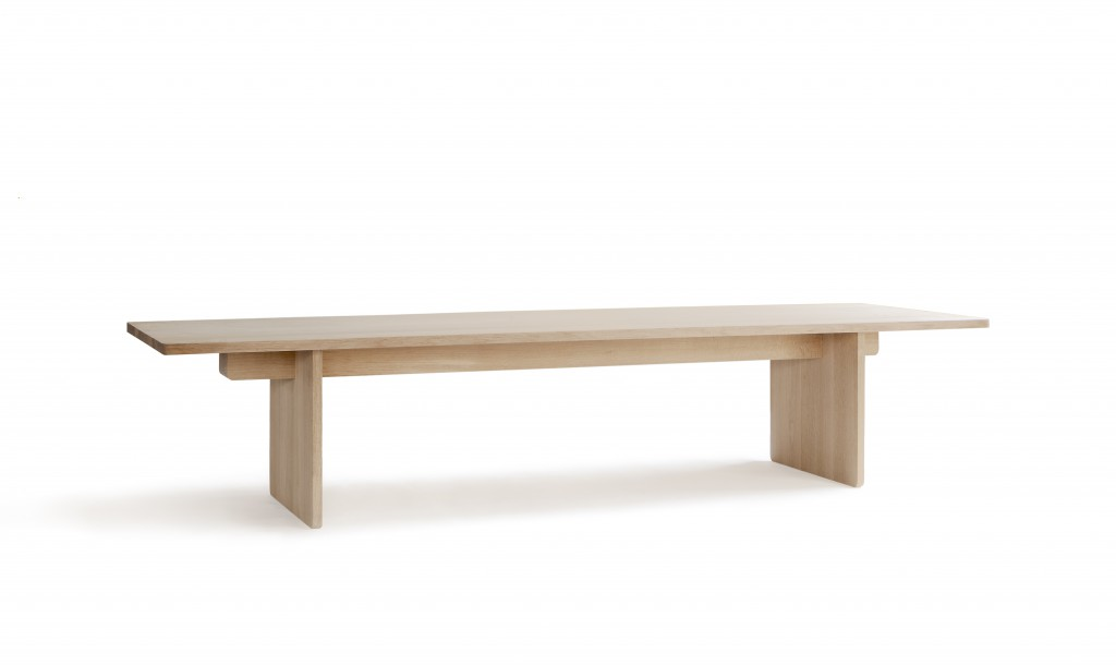 Skandinavia Edi Table by Claesson Koivisto Rune Architects in 2015, ash and oak finished with natural oil