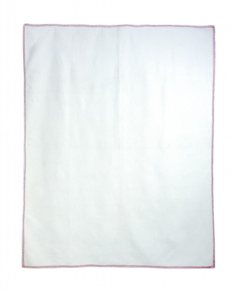 White on White Quilt by Sona Rani Roy