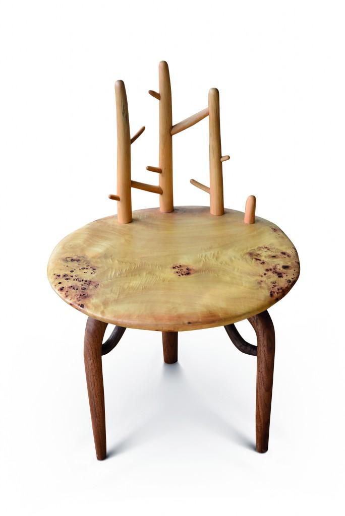 Tree Chairs by Zhilong Zheng