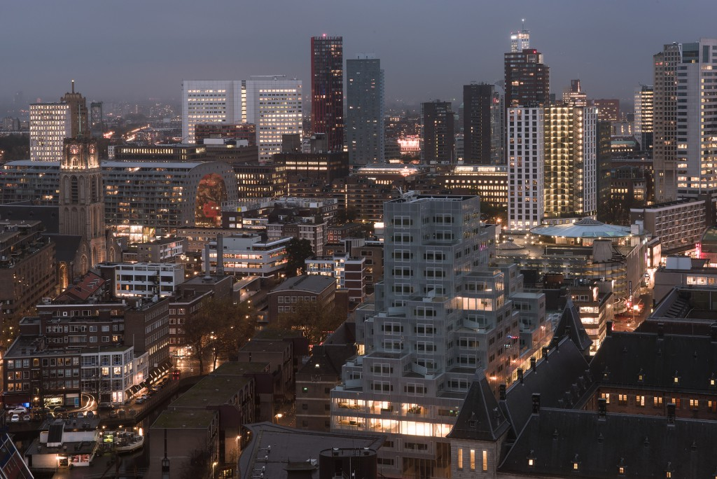Timmerhuis in Rotterdam by OMA. Photo: Sebastian van Damme