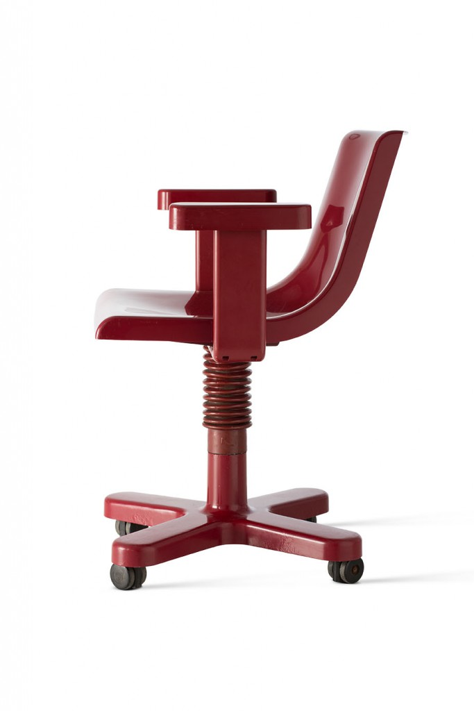 Synthesis 45, chair, 1972, Manufacturer: Olivetti, Photo: Jürgen Hans. Courtesy of Vitra Design Museum.