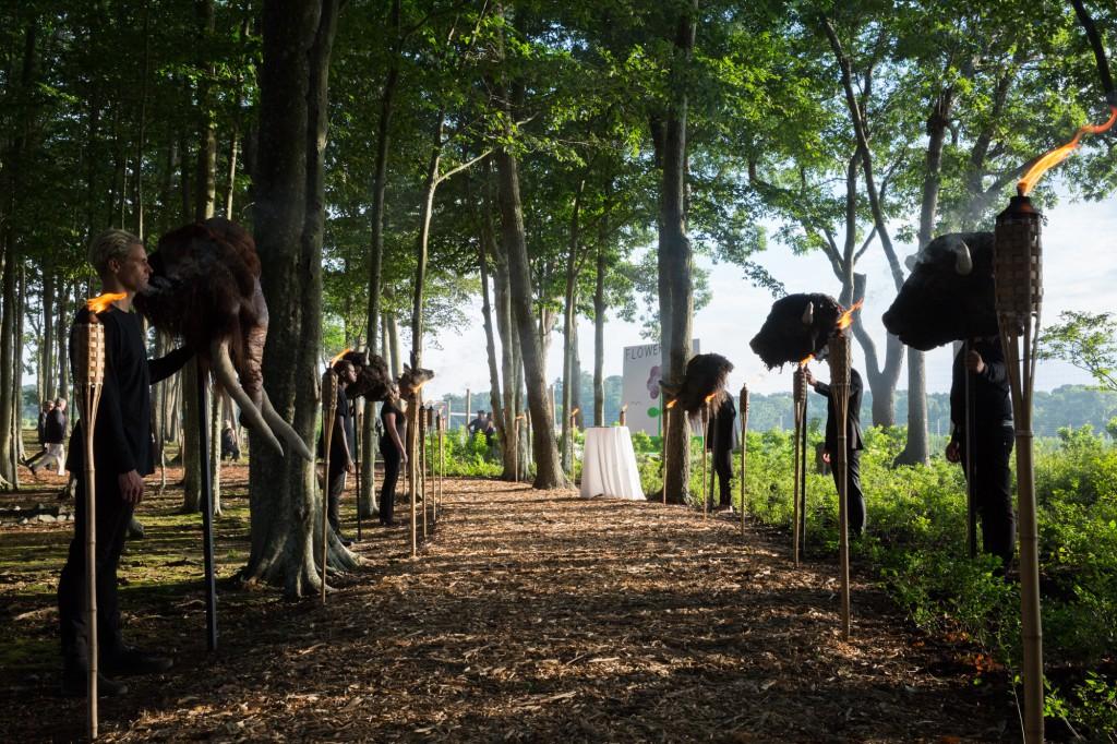 Deep Time Rewilding by Rachel Frank, Photo: Chloé Bellemère
