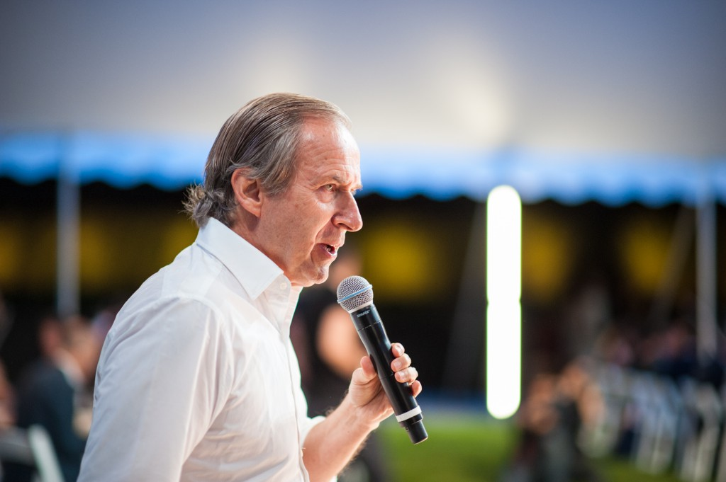 Auctioneer Simon de Pury, Photo: Lovis Ostenrik