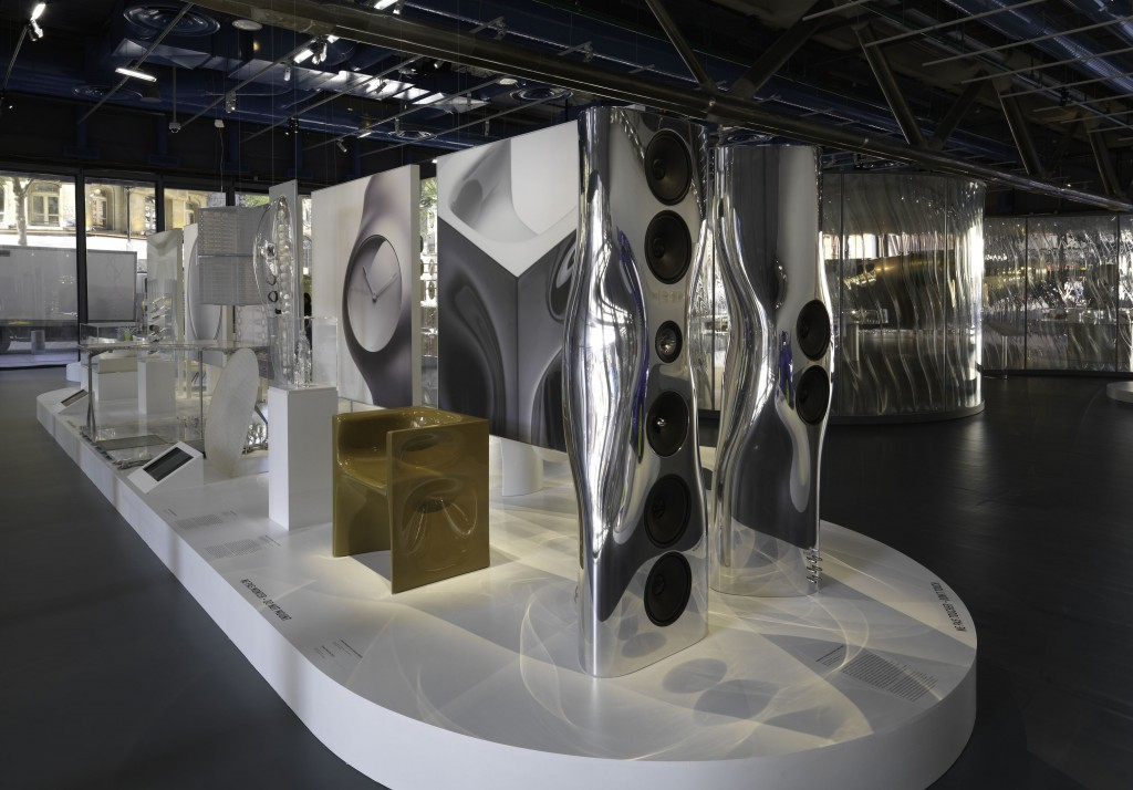 Ross Lovegrove Convergence exhibition at the Centre Pompidou. Photo: Philippe Migeat
