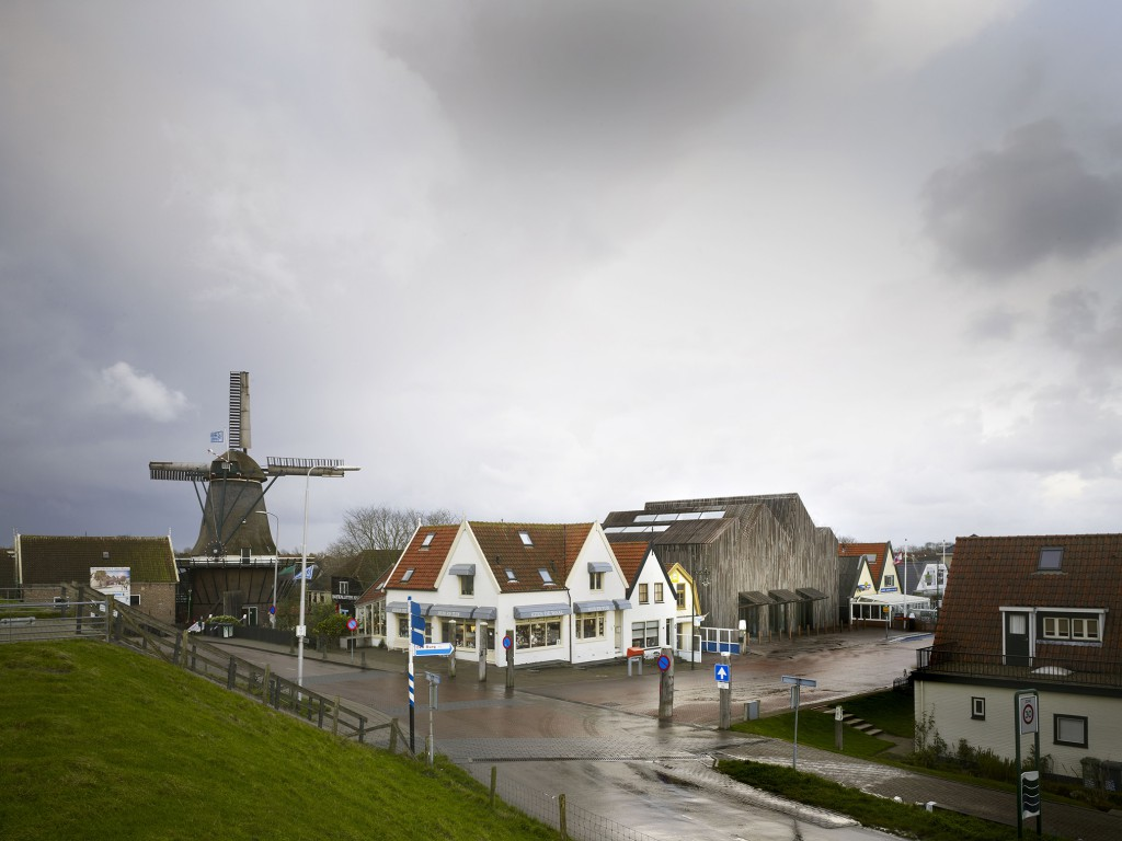 Kaap Skil Maritime and Beachcombers Museum on Texel Island by Mecanoo. Photo: Christian Richters