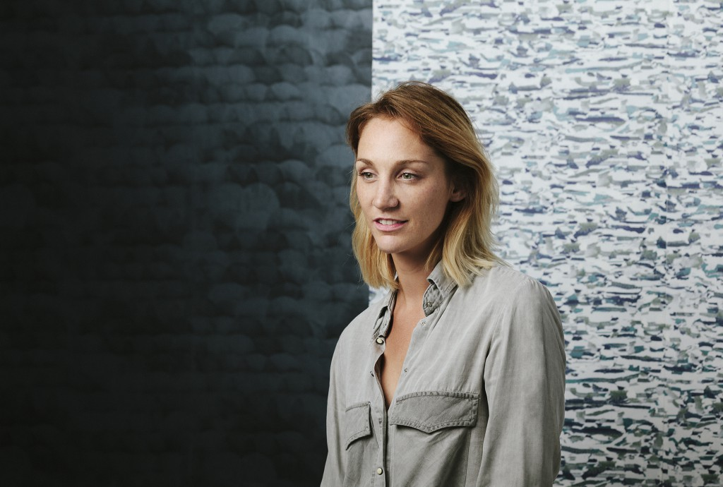 From fashion to wallpaper was a single step for Alexia de Ville de Goyet, creator of the brand Tenue de Ville