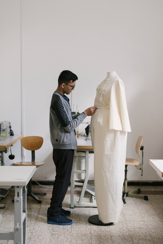 From sketch to finished item, including using a dress form, students create a collection from A to Z
