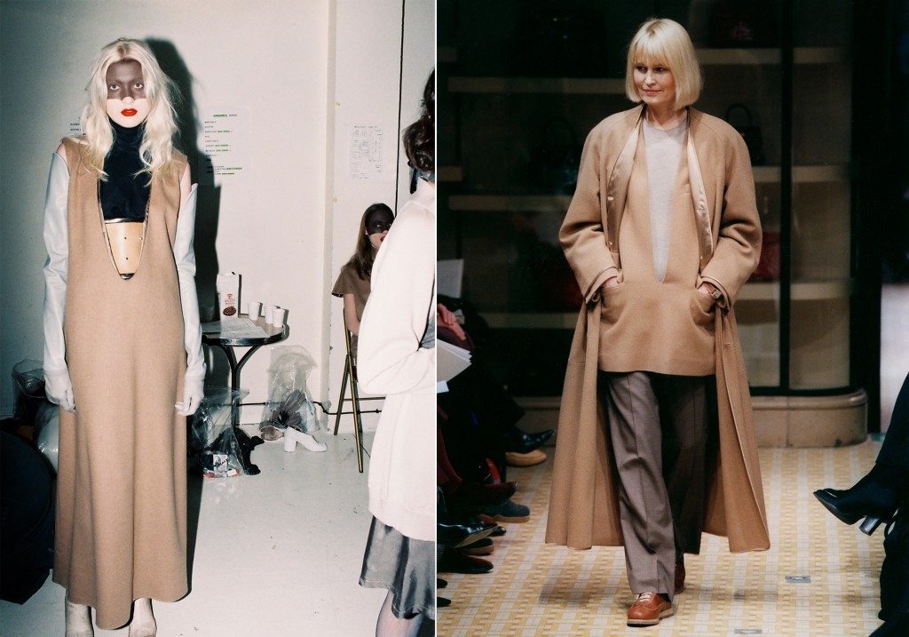 Maison Martin Margiela A/W 1996-1997, Photo: Anders Erdström // Hermès A/W 1998-1999, Photo: Studio des Fleurs