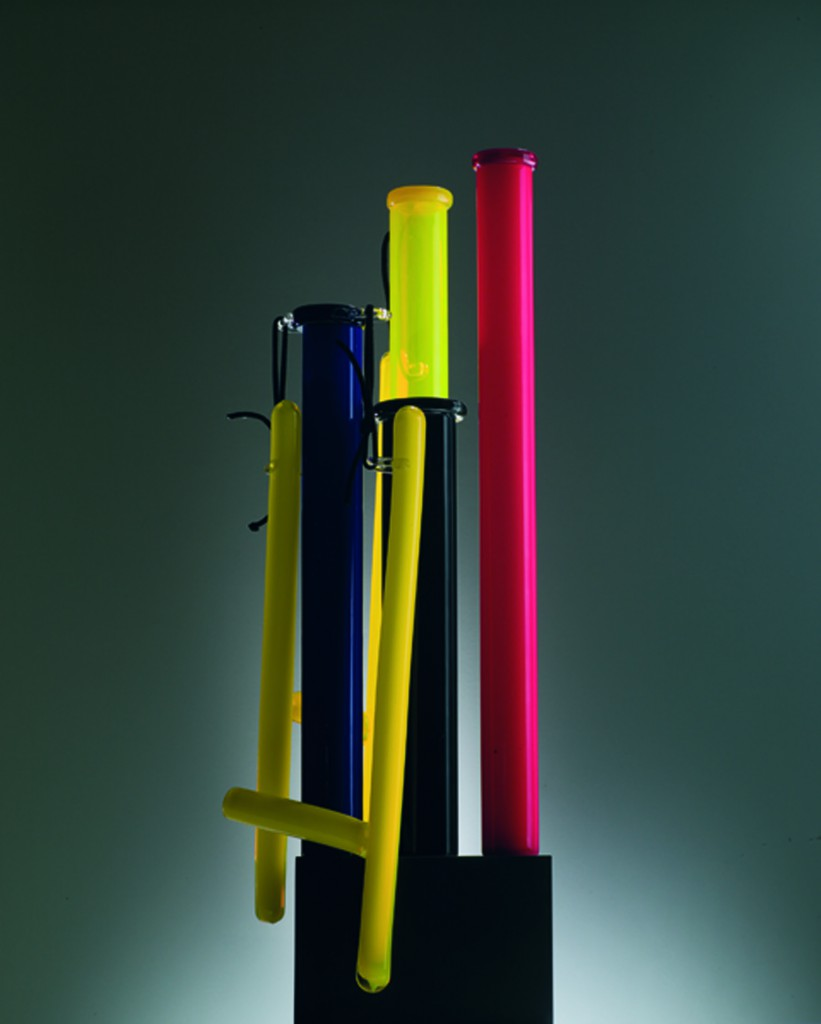 Ettore Sottsass [Italian, 1917-2007] Vase no. 7, 2006 Glass and rope Edition of 9. Courtesy of Friedman Benda