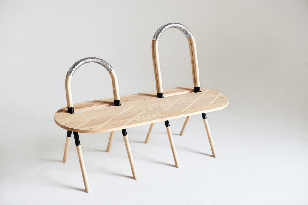 Re:Connect seating island by De Allegri & Fogale