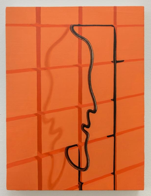 Sascha Braunig Study for 'Tub Nan', 2017. On display at Office Baroque.