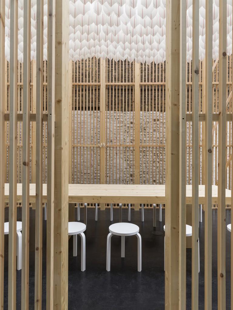 On Repeat pavilion interior, designed by Universal Design Studio (3)