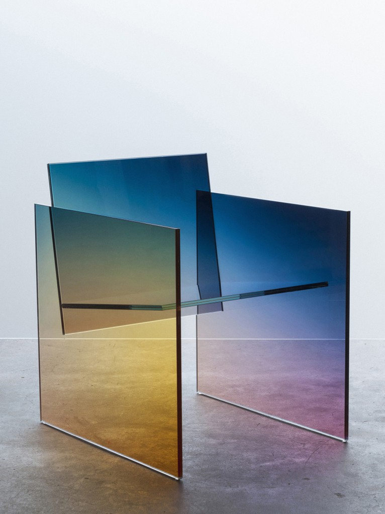 Ombré Glass Chair by Germans, Amy Lau__