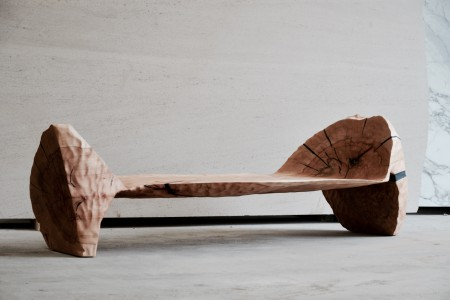 Kaspar Hamacher's Sculptural Bench