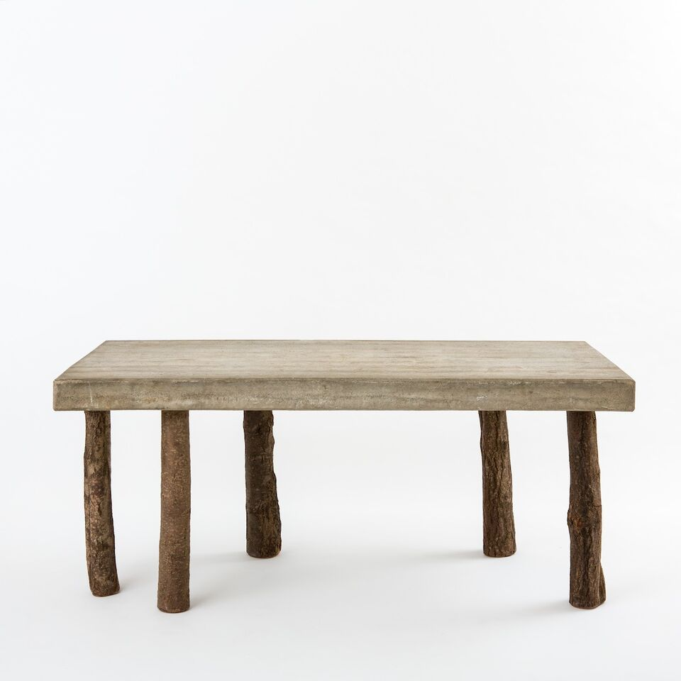 Concrete Table by Jens Peter Schmid, Demisch Danant