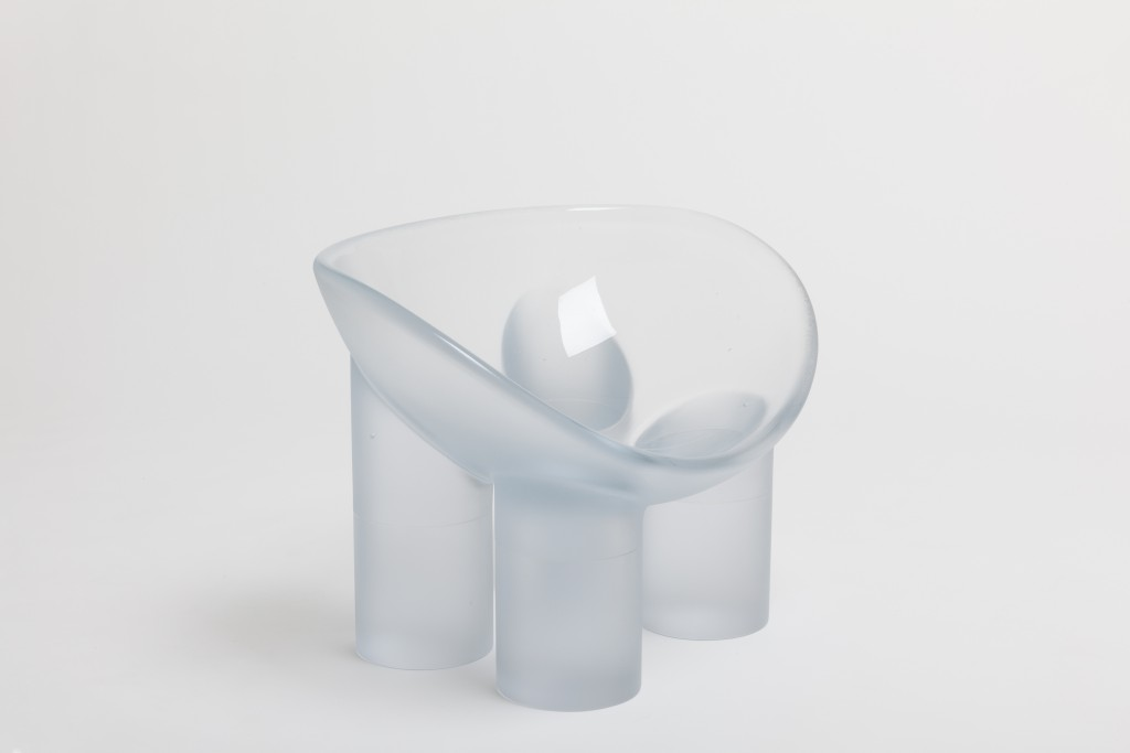 Roly-Poly Chair Water by Faye Toogood, Freidman Benda