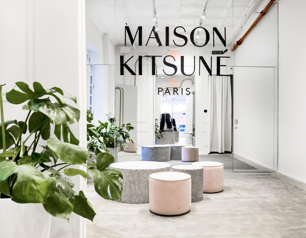 Image courtesy of Maison Kitsuné