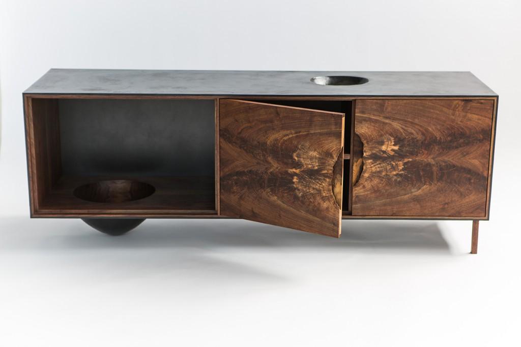 La Credenza Muebles : Modern latest office furniture private desk credenza shell