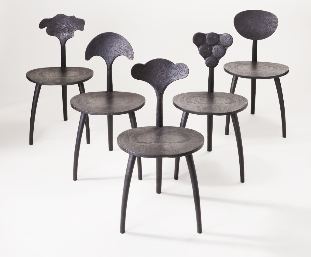 Trine Chairs by John Makepeace, Sarah Myerscough Gallery