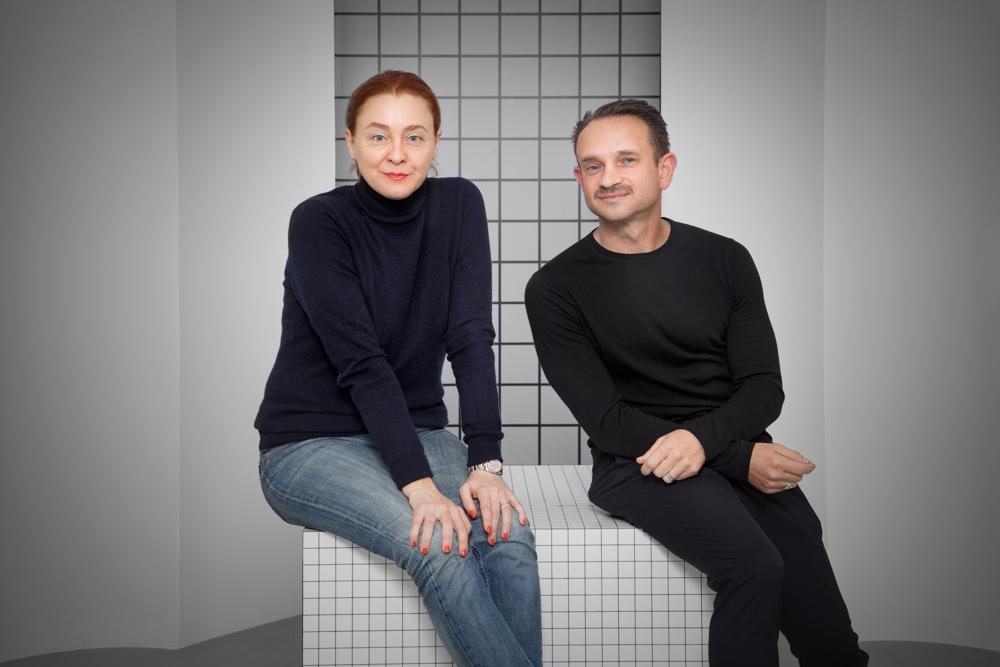 Guest Curator Maria Cristina Didero and R & Company principal Evan Snyderman