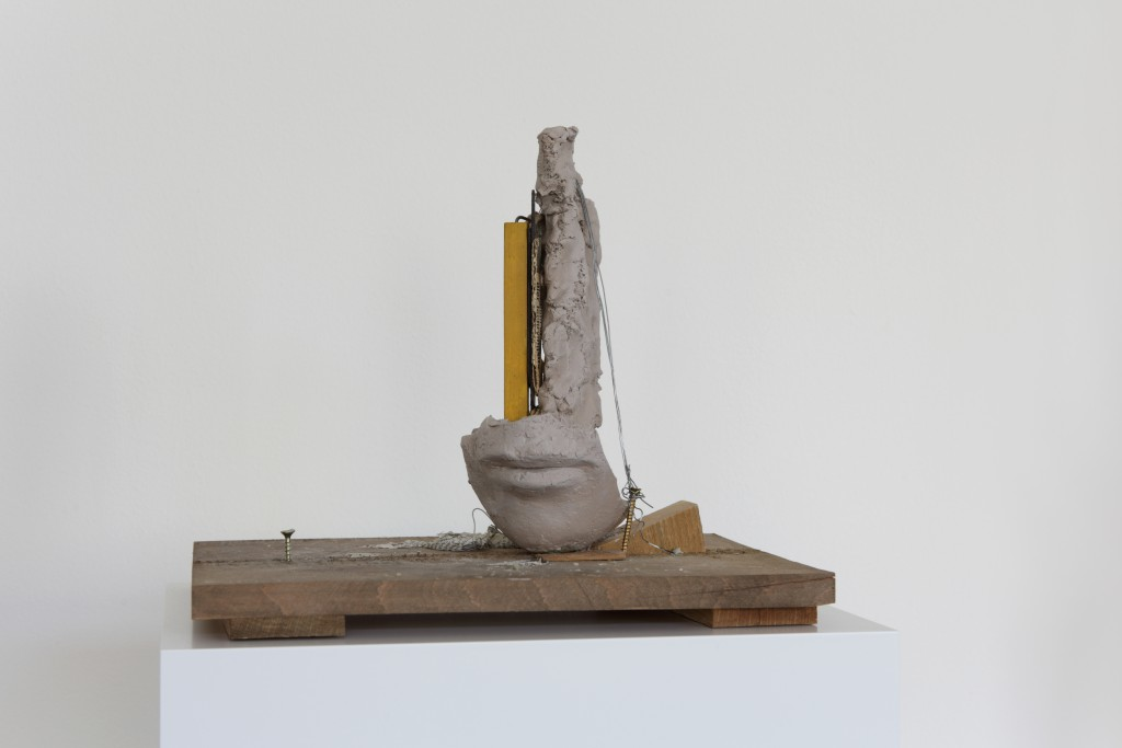 Mark Manders, Girl Study, 2013. at Van Eyck