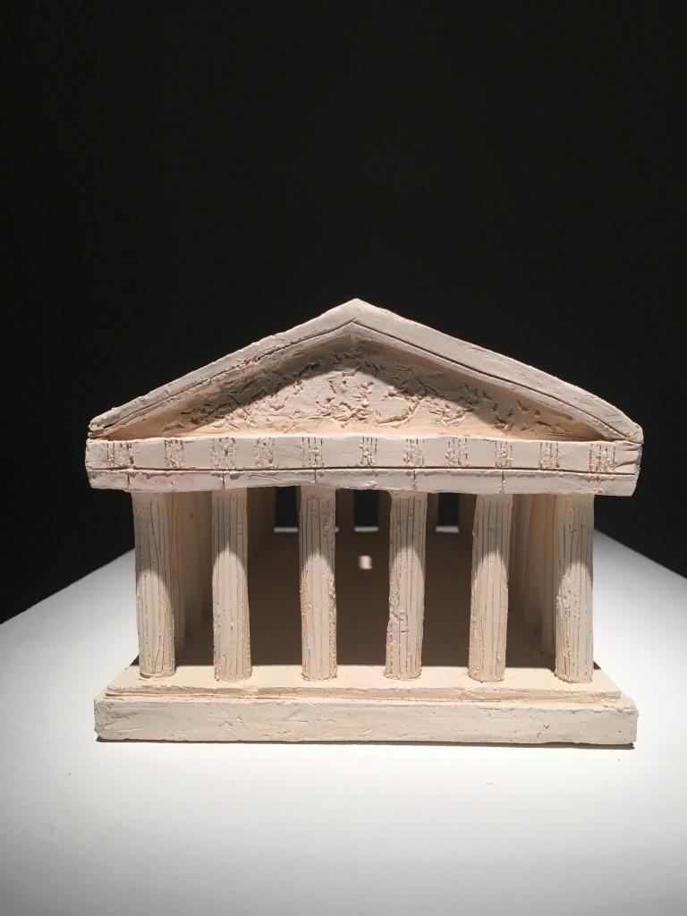 Bianca Argimon, Piggy Bank (frontal view), 2015, ceramics