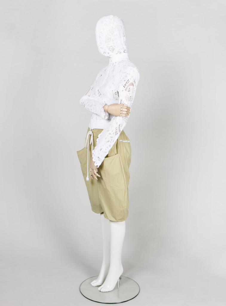 "Jacket in Brussels lace, from the ""Ich Will 'Nen Cowboy als Mann"" collection (2008)"