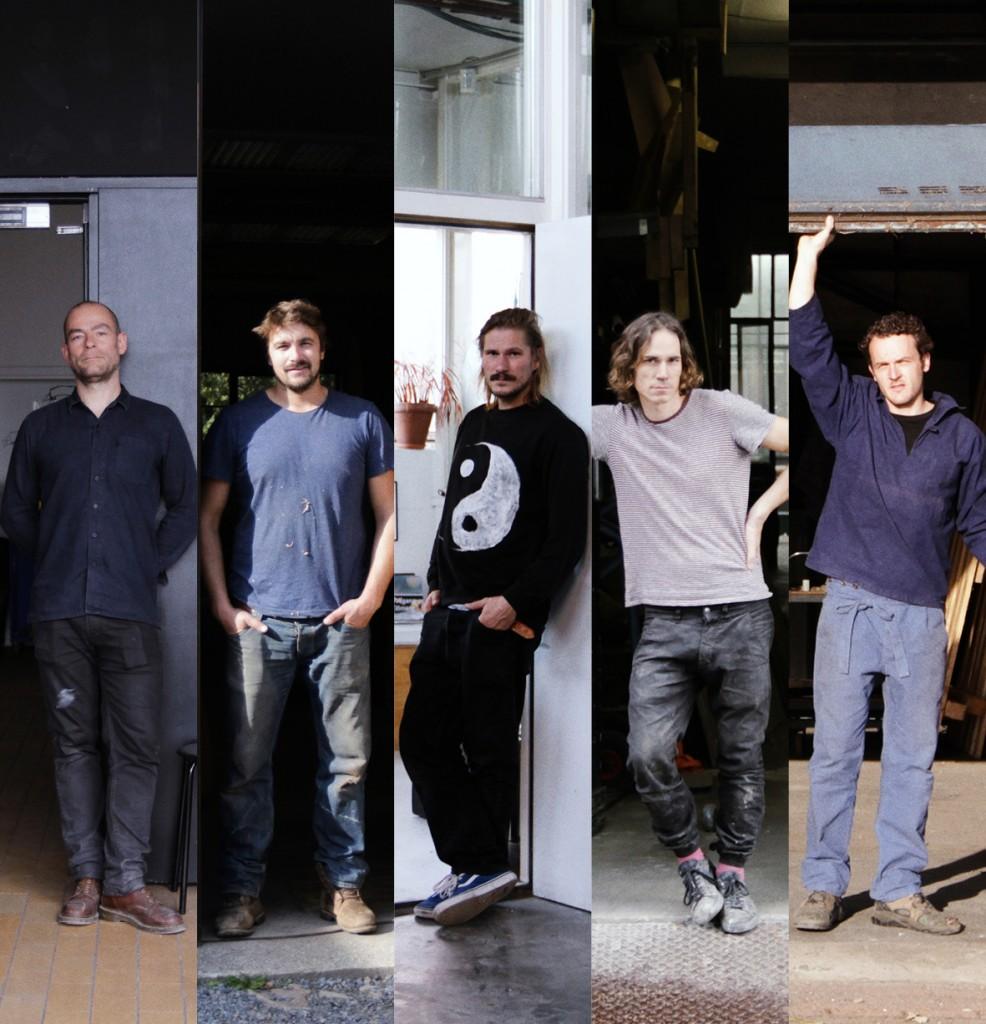 Die Werkstatt at Spazio Nobile, with Damien Gernay, Kaspar Hamacher, Jonas & Valentin Loellmann and Fabian von Spreckelsen