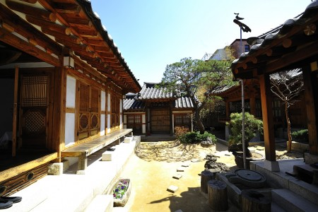 Hanoks, Tradition house, Rakgojae, Seoul