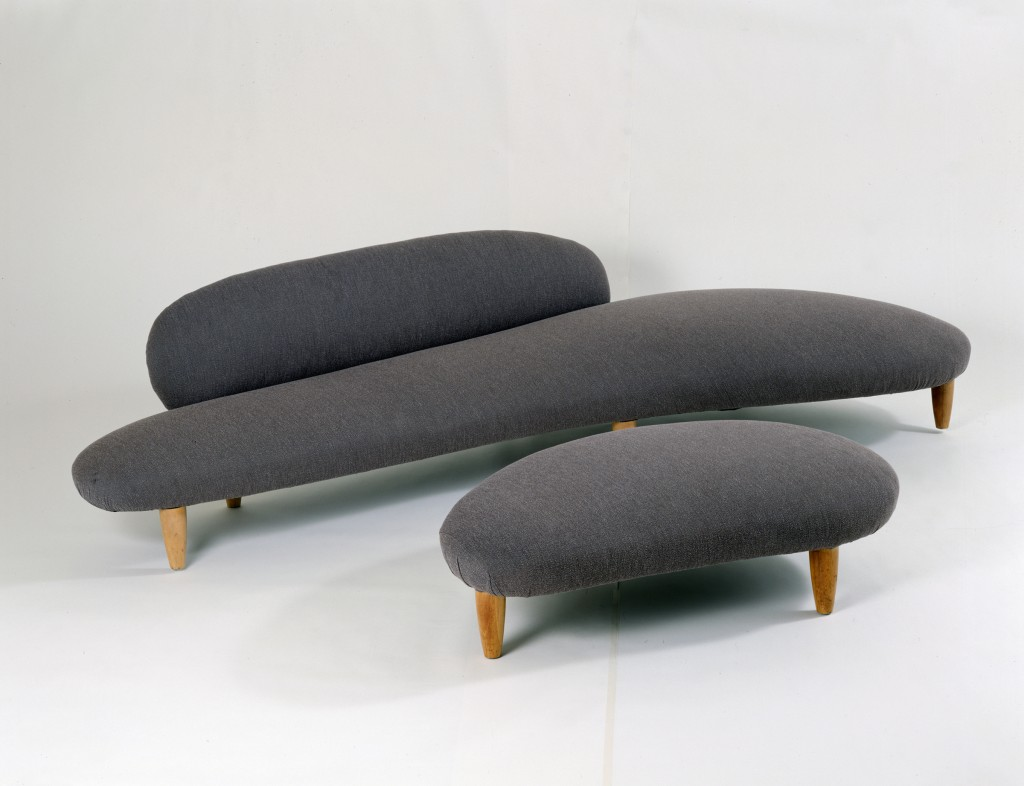 Isamu Noguchi, Freeform Sofa with Ottoman, ed Vitra