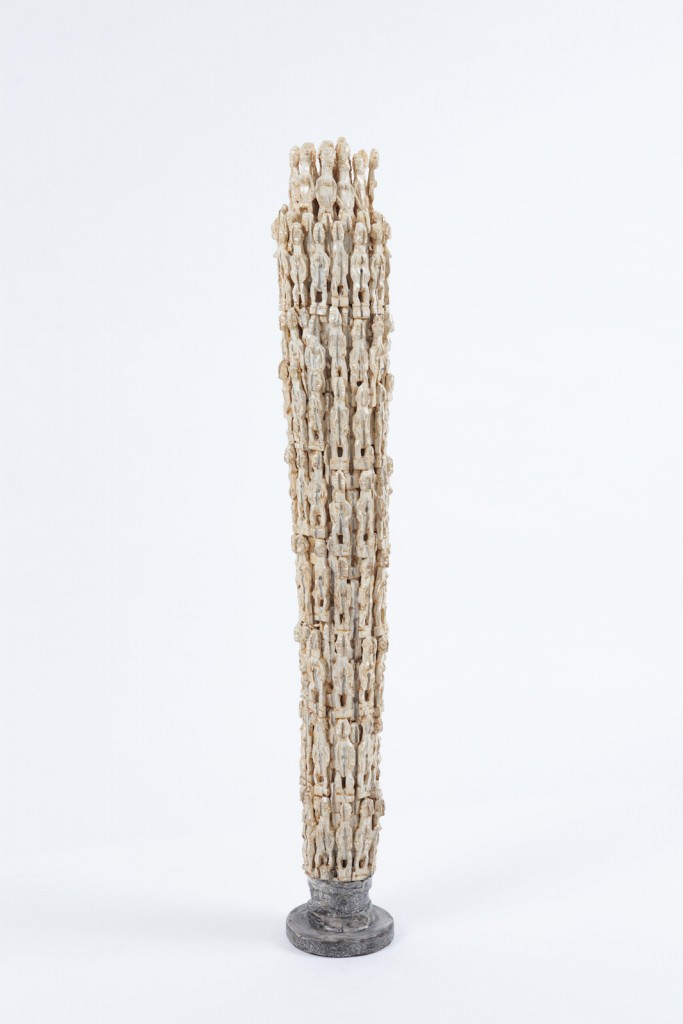 Dominique Zinkpè, Colonne Humaine -  Galerie Vallois