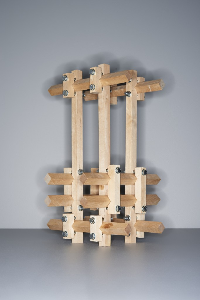 UNTITLED-211114, wood, nuts, bolts, 2014