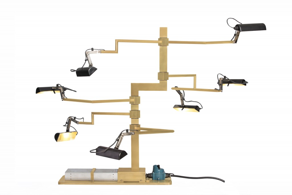 Lionel Jadot, LJ5, Rotating Lamp Bonzai Sound © Serge Anton