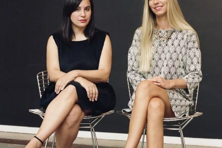 Liv Vaisberg and Clélie Debelhaut