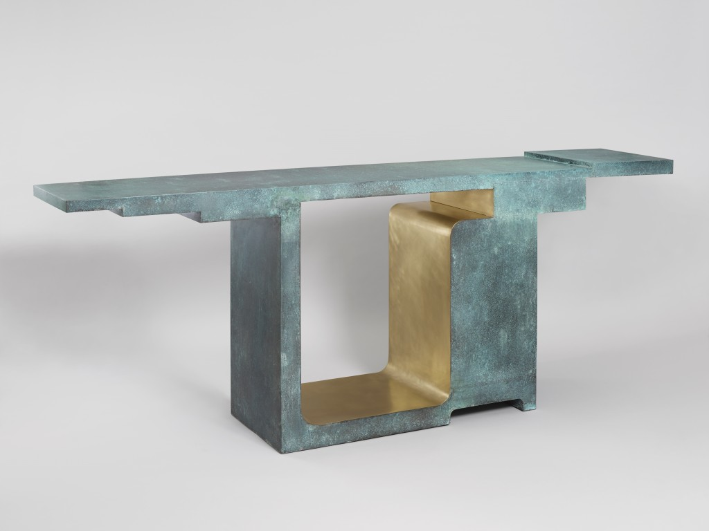 Xiangsheng, Oxidized bronze and brushed bronze, 8 + 4 AP, ed. galerie BSL Paris, 2015