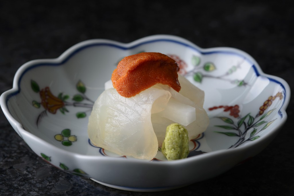 The Sushi-B restaurant in Paris, with one Michelin star