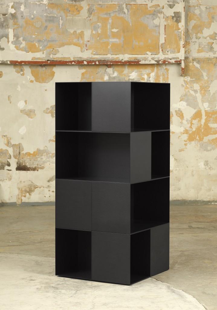 Manière Noire , 2013, Carbon fibe, ©Fabrice Gousset