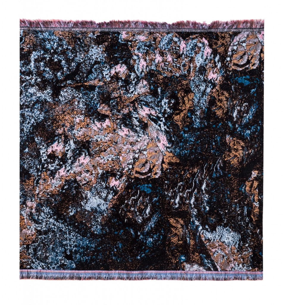 The tapestries of Studio Krjst are among the selection for miart © KRJST Studio