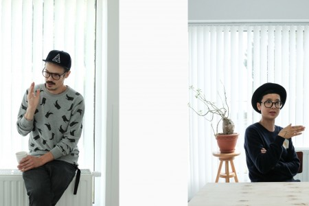 Portrait of Arnaud de Harven & Thi-Thi Nguyen aka We are Oskar, duo based in Brussels