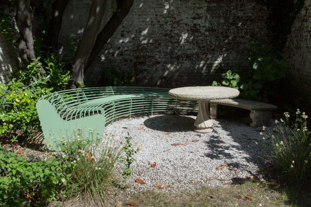 Bespoke Circular Bench at Spazio Nobile